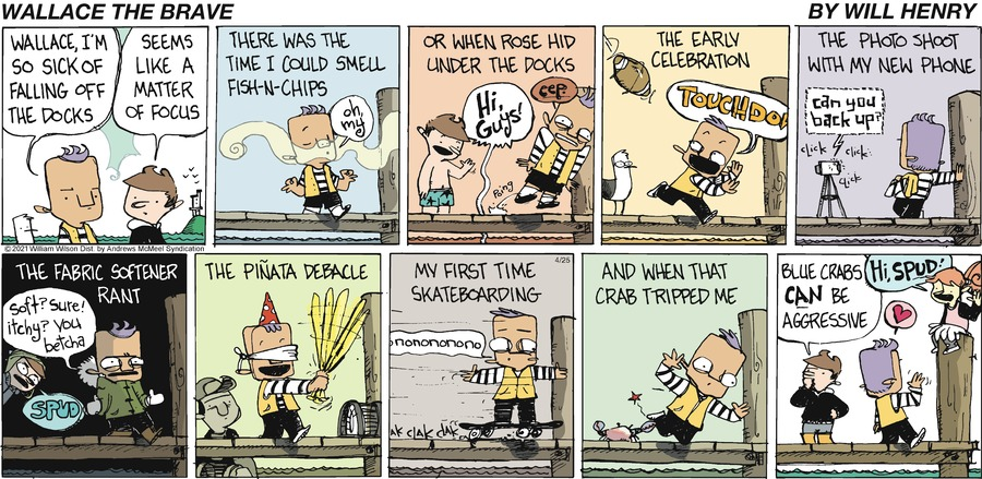 Wallace the Brave Comic Strip for April 25, 2021