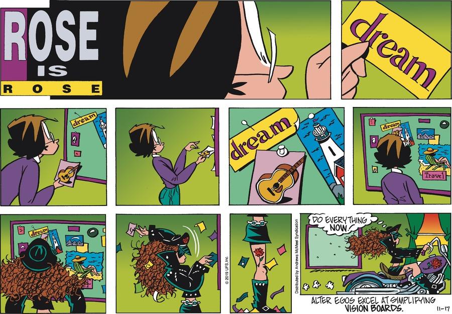 Rose is Rose Comic Strip for November 17, 2019