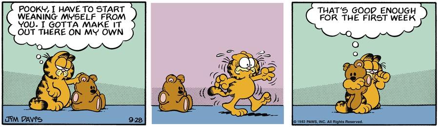 Garfield Classics by Jim Davis on Sun, 03 Oct 2021