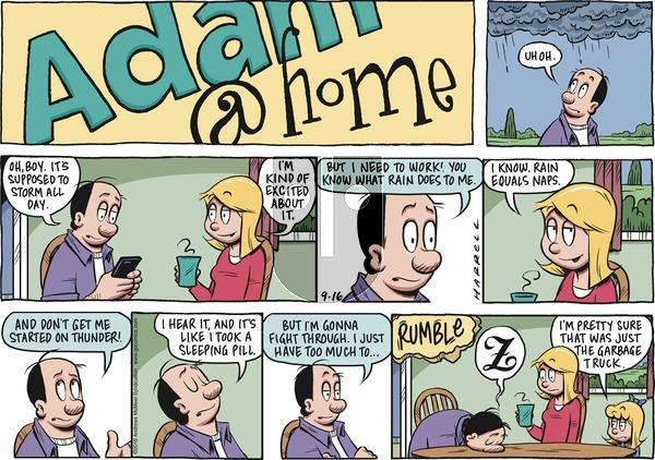 Adam@Home on Sunday September 16, 2018 Comic Strip