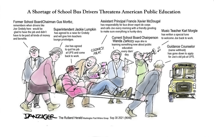 Jeff Danziger by Jeff Danziger on Thu, 30 Sep 2021