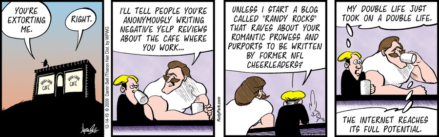 Rudy Park Comic Strip for December 14, 2019