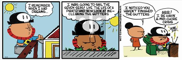 Pirate Mike on November 22, 2018 Comic Strip