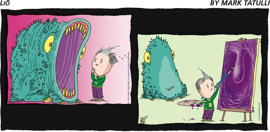 Lio for August 19, 2018 Comic Strip