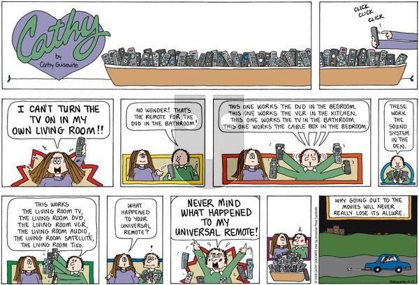 Cathy on Sunday February 17, 2008 Comic Strip