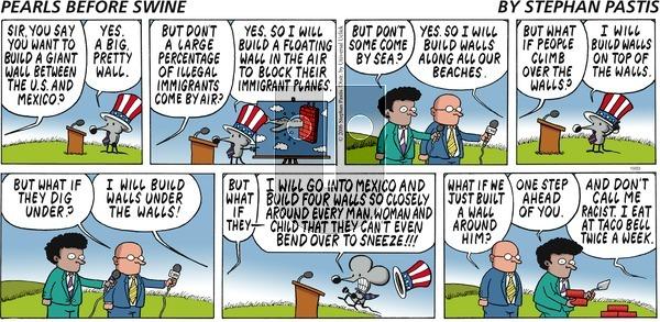 Pearls Before Swine - Sunday October 23, 2016 Comic Strip