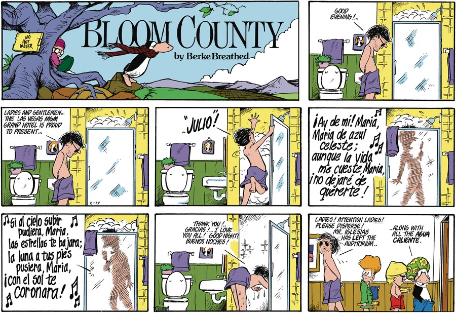 Bloom County Comic Strip for January 27, 2021