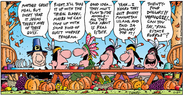 Frank and Ernest Comic Strip for November 20, 2005