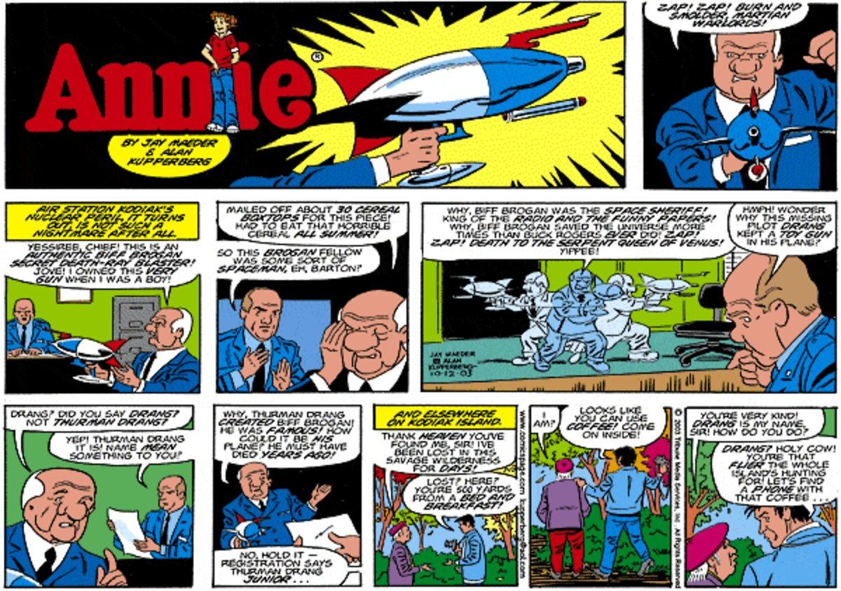 Annie for Jul 13, 2014 Comic Strip