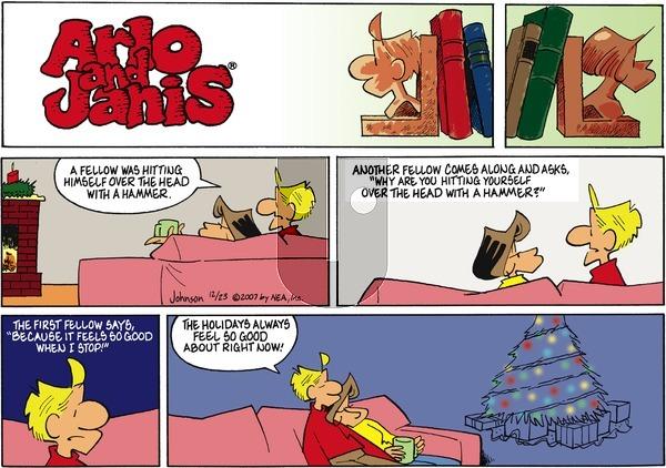 Arlo and Janis on Sunday December 23, 2007 Comic Strip
