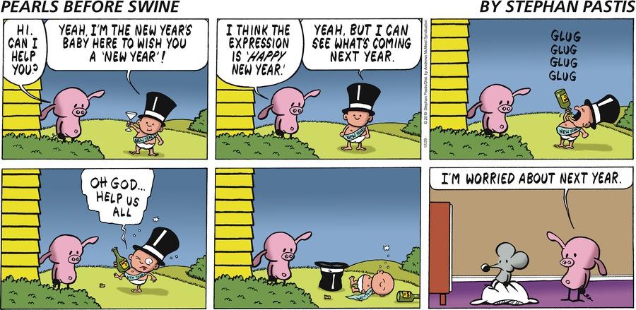 Pearls Before Swine Comic Strip for December 29, 2019