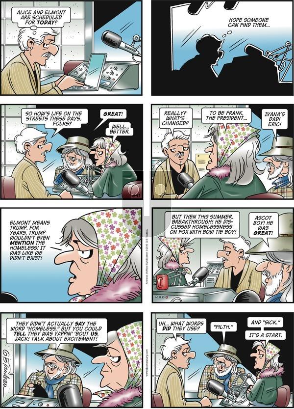 Doonesbury on Sunday August 11, 2019 Comic Strip