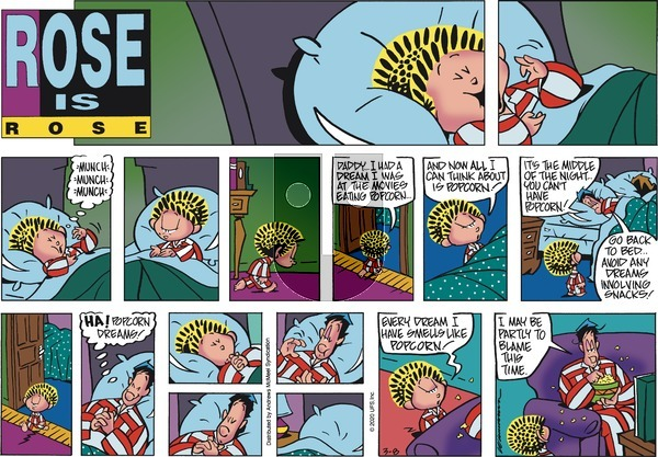 Rose is Rose - Sunday March 8, 2020 Comic Strip