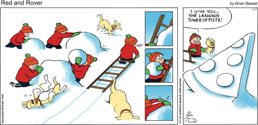 Red and Rover Comic Strip for January 17, 2021