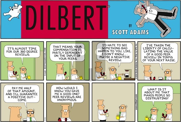 Dilbert on Sunday March 19, 2006 Comic Strip