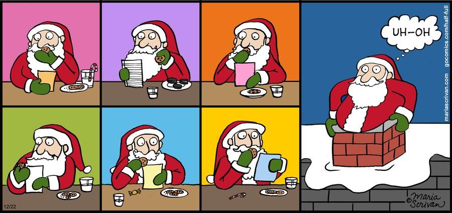 Half Full Comic Strip for December 22, 2013