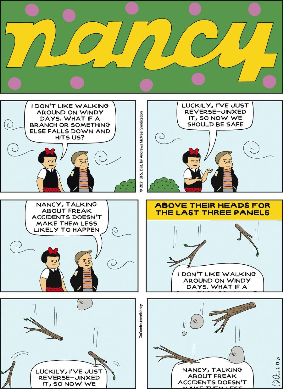 Nancy Comic Strip for June 13, 2021