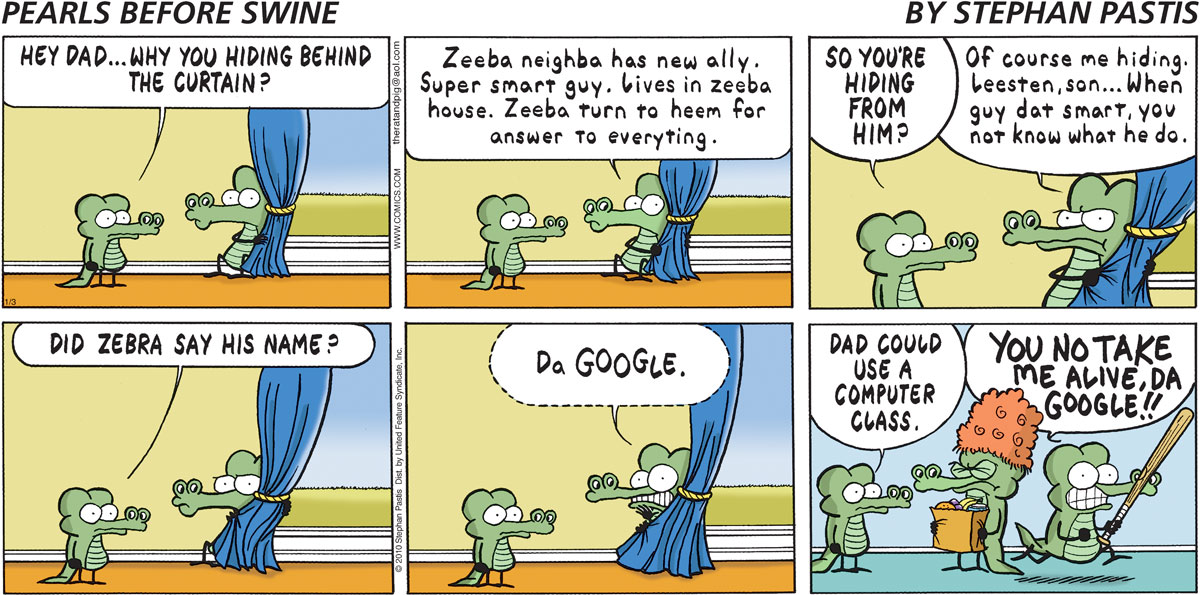 Pearls Before Swine Comic Strip for January 03, 2010