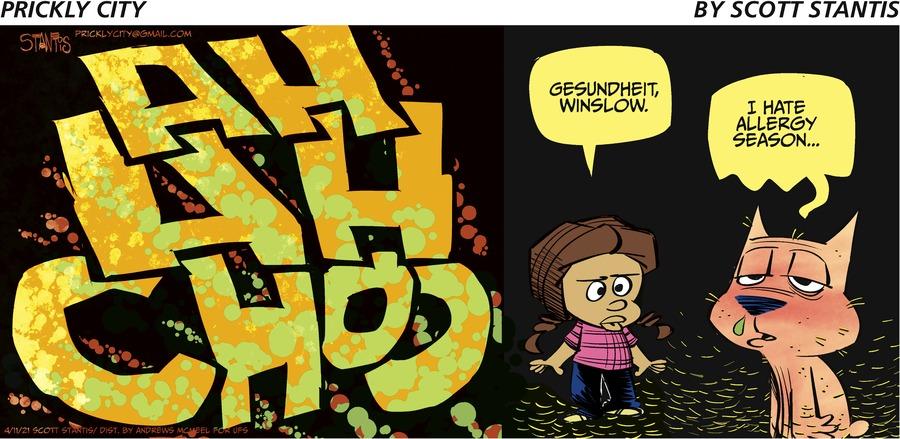 Prickly City Comic Strip for April 11, 2021