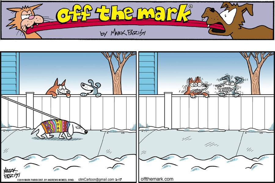 Off the Mark Comic Strip for February 17, 2019