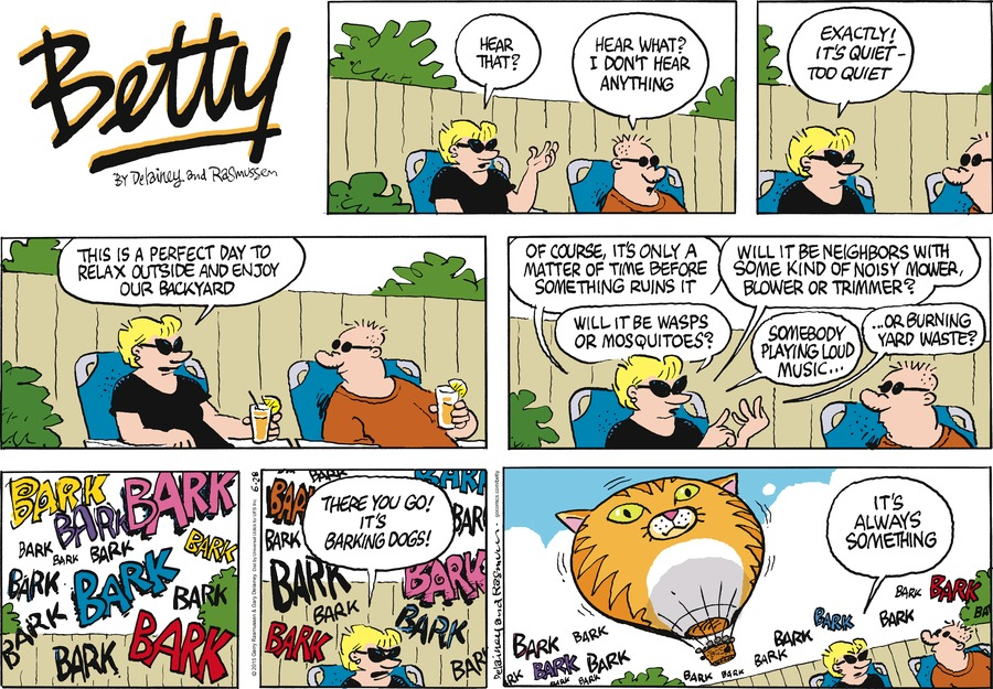 Betty Comic Strip for June 28, 2015