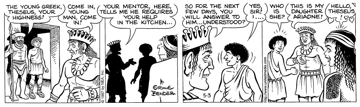 Alley Oop for May 3, 1997 Comic Strip