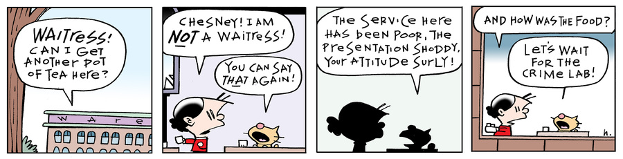 Ten Cats Comic Strip for January 23, 2021