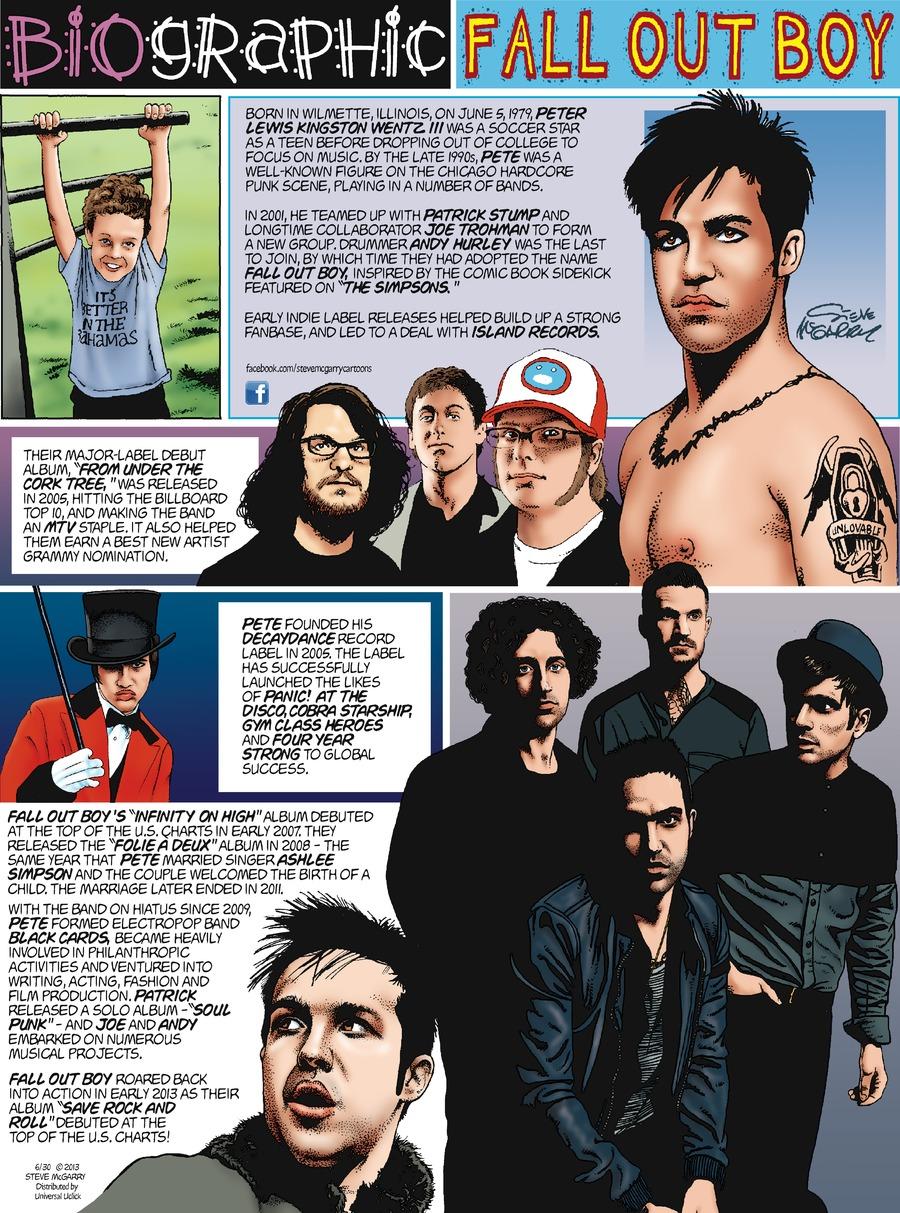 Biographic Comic Strip for June 30, 2013
