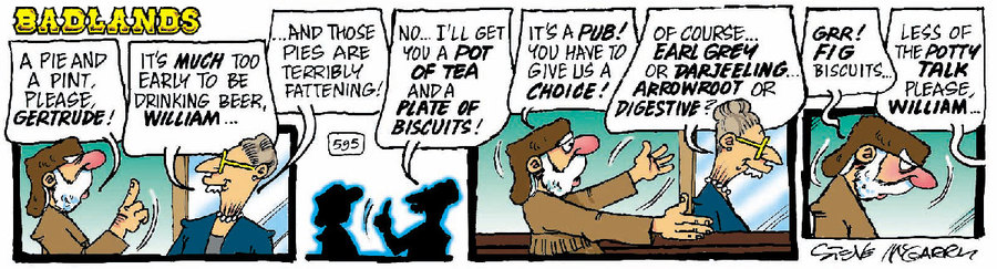 Badlands Comic Strip for November 18, 2020