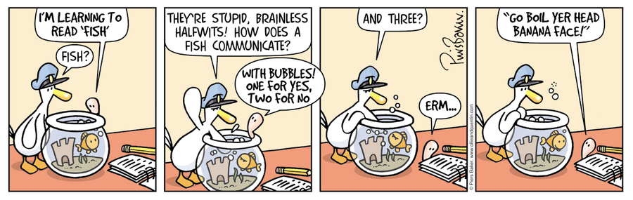 Ollie and Quentin Comic Strip for April 25, 2019
