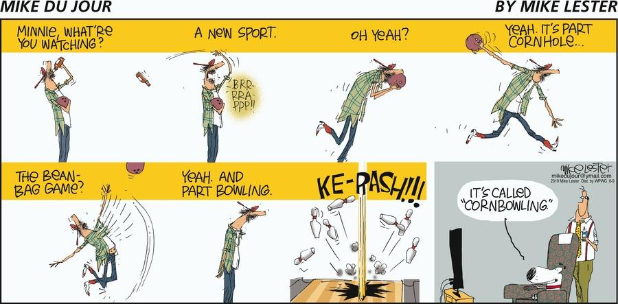 Mike du Jour Comic Strip for June 09, 2019