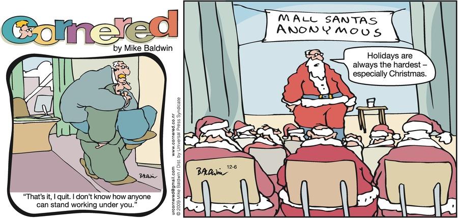 Cornered Comic Strip for December 06, 2009