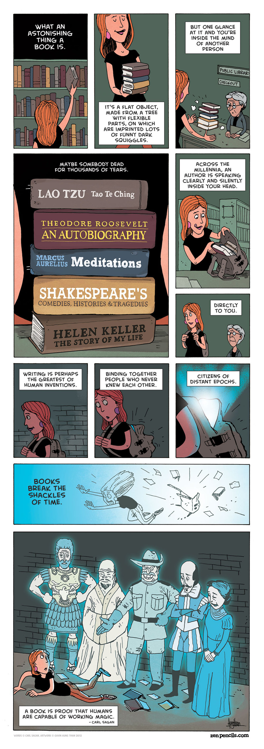 Zen Pencils Comic Strip for November 01, 2013