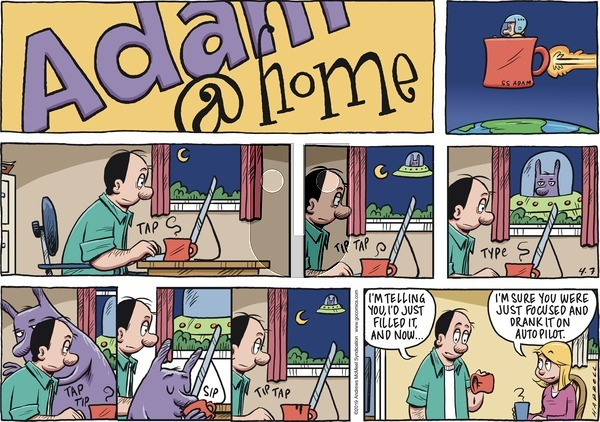Adam@Home on Sunday April 7, 2019 Comic Strip