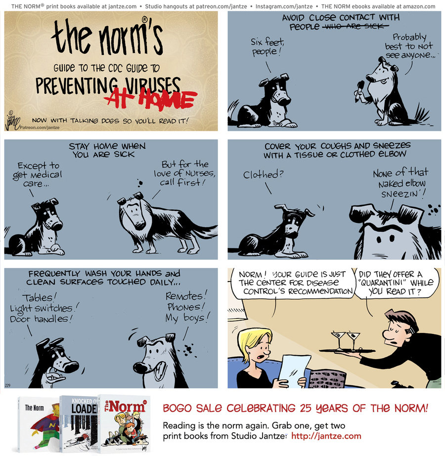 The Norm Classics Comic Strip for January 24, 2021