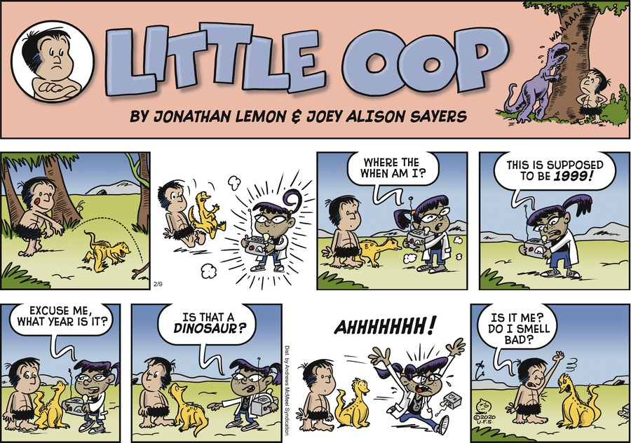 Alley Oop Comic Strip for February 09, 2020