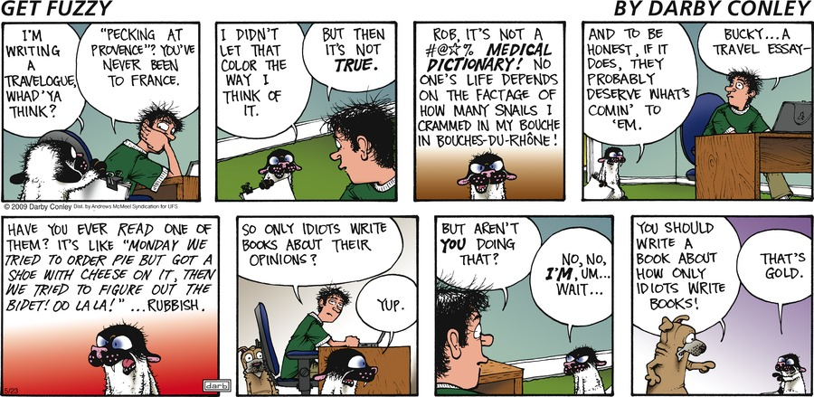 Get Fuzzy Comic Strip for May 23, 2021