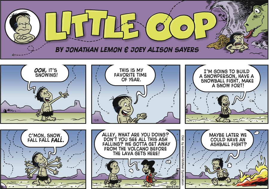 Alley Oop Comic Strip for December 08, 2019