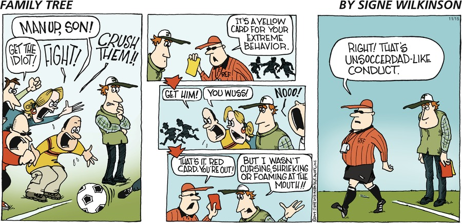 Family Tree Comic Strip for November 15, 2009
