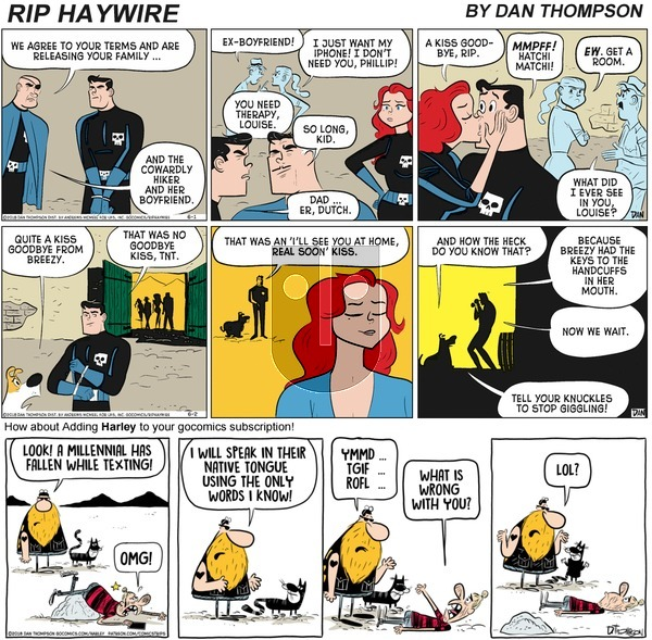 Rip Haywire on Sunday November 29, 2020 Comic Strip
