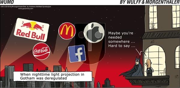 WuMo on Sunday April 8, 2018 Comic Strip