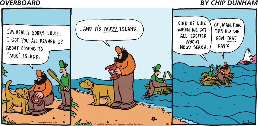 Overboard Comic Strip for August 23, 2020
