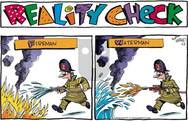 Reality Check on Sunday April 5, 2020 Comic Strip