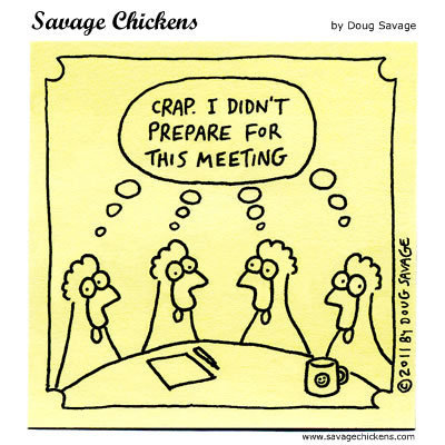 Savage Chickens Comic Strip for February 23, 2015