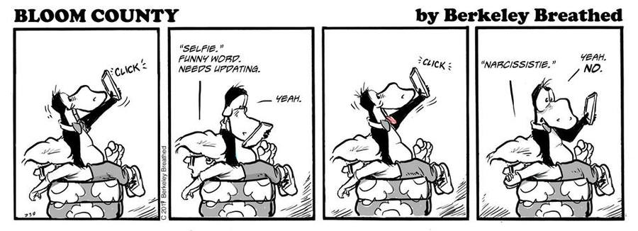 Bloom County 2019 Comic Strip for February 14, 2019