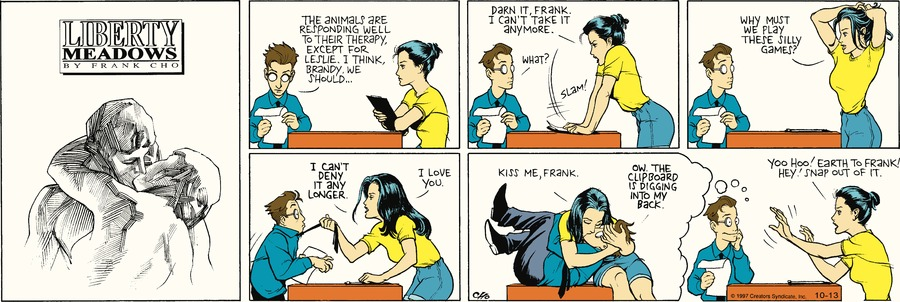 Liberty Meadows Comic Strip for October 13, 2019