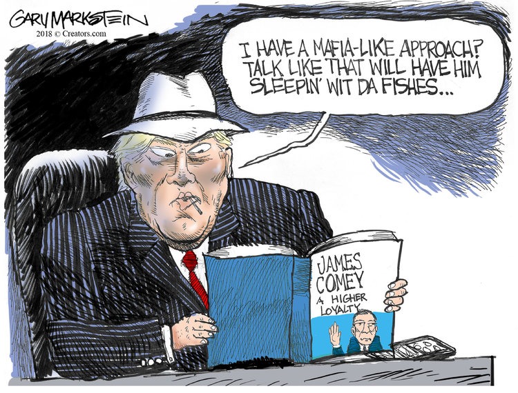 Gary Markstein Comic Strip for April 13, 2018