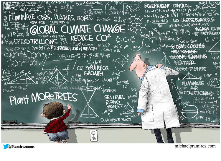 Michael Ramirez Comic Strip for September 28, 2019