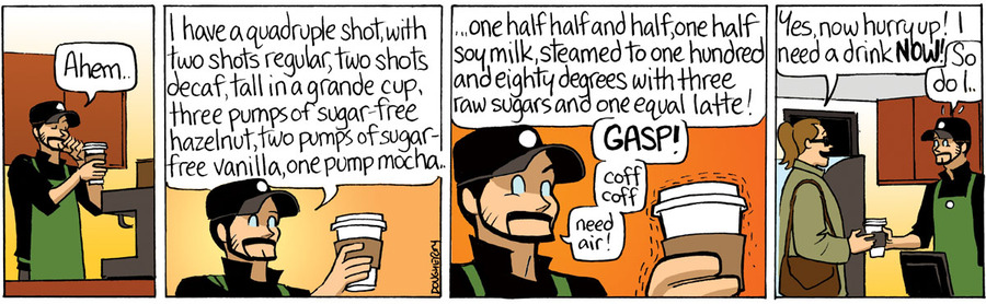 Beardo Comic Strip for June 04, 2015