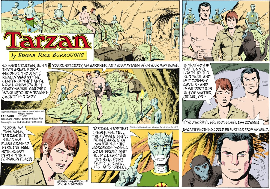 Tarzan for Dec 17, 2017 Comic Strip